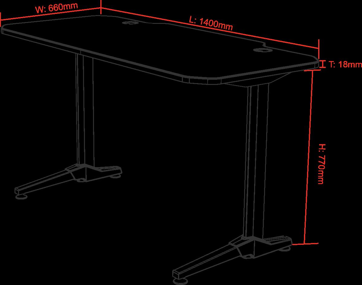 Gaming Table méretek